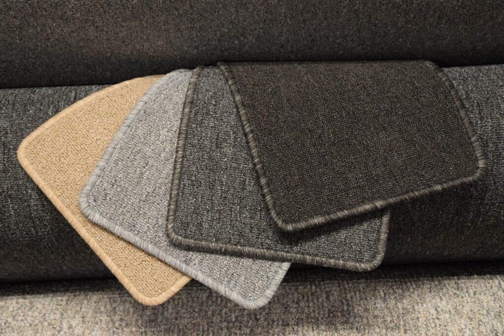 Tæppe-prøver